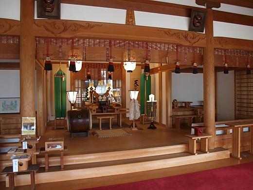 木華佐久耶比咩神社訪問記4-拝殿〜本殿/岡山の街角から